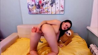 EmilyScotch – She Can Take On Her Biggest Dildo