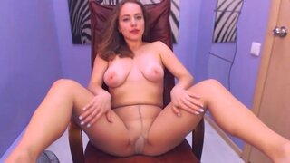 AdorableIren – That Chair Is Comfortable Enough For Teasing Pussy