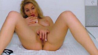 AbbyHotBlonde – Sensual Masturbation Scene